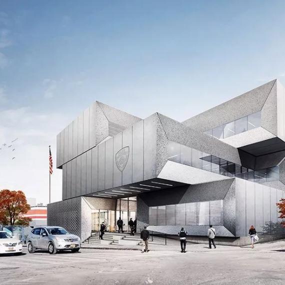 Construction begins on Bjarke Ingels-designed Bronx police station
