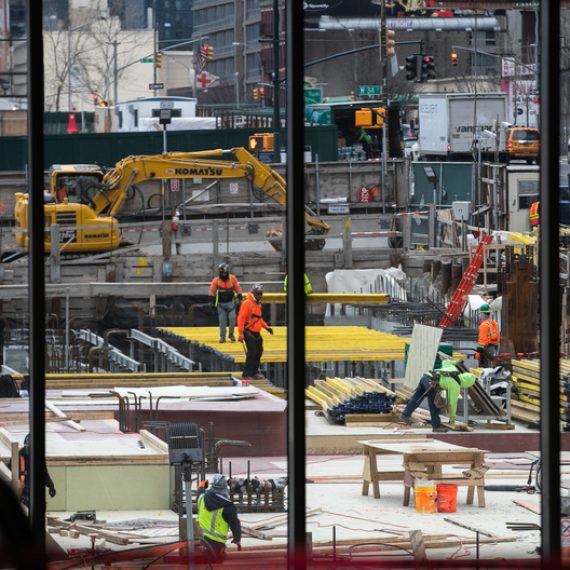 Construction jobs reach record levels in city