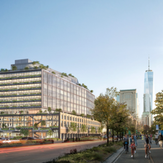 Construction begins at Google's Hudson Square campus