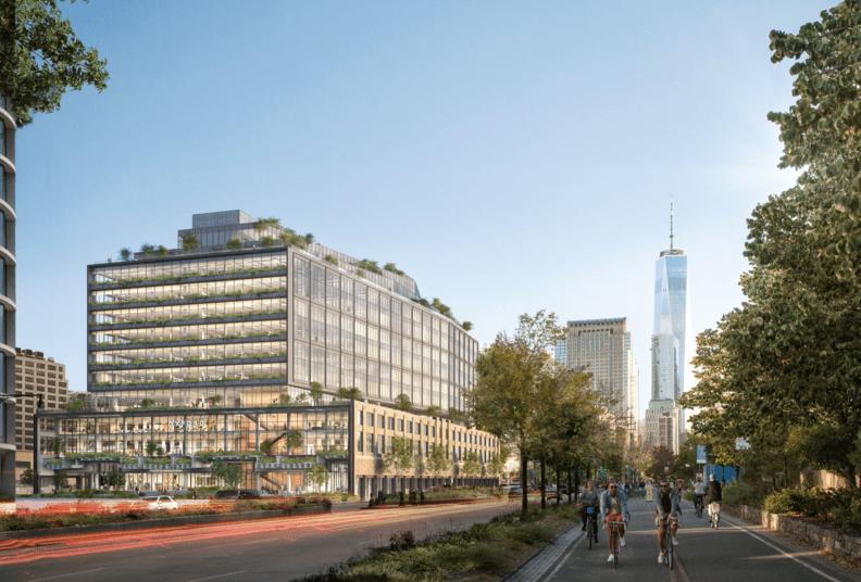 Construction begins at Google's Hudson Square campus