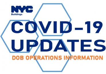 DOB and COVID-19 Updates