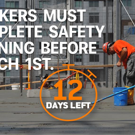 12 Days left! Register for SST Courses today!