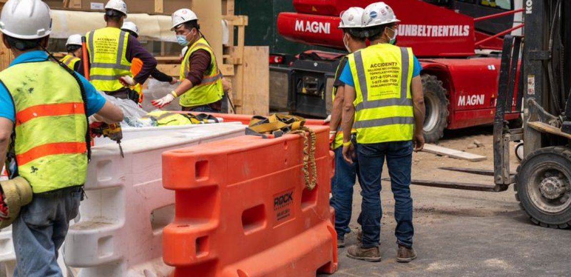 NYC Buildings department shuts down more than 300 construction sites in massive safety sweep